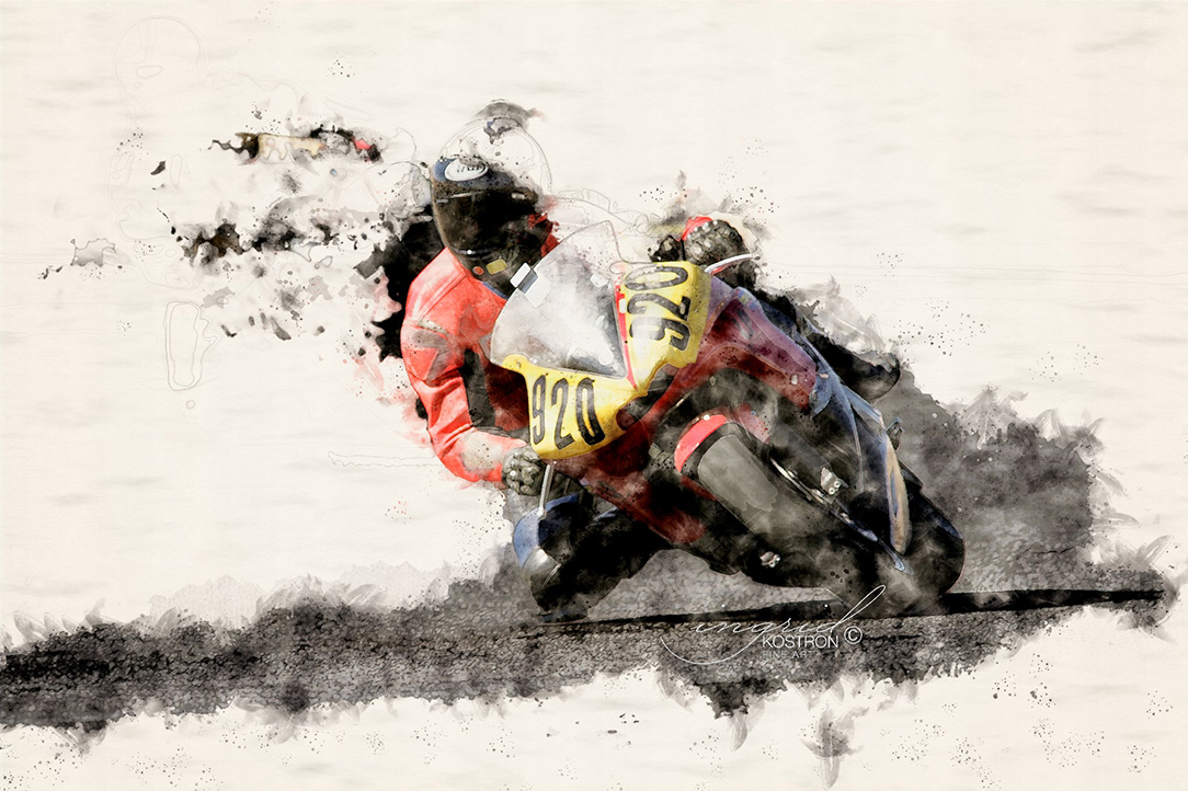 Racing Motorcycles, © Ingrid Kostron 2020